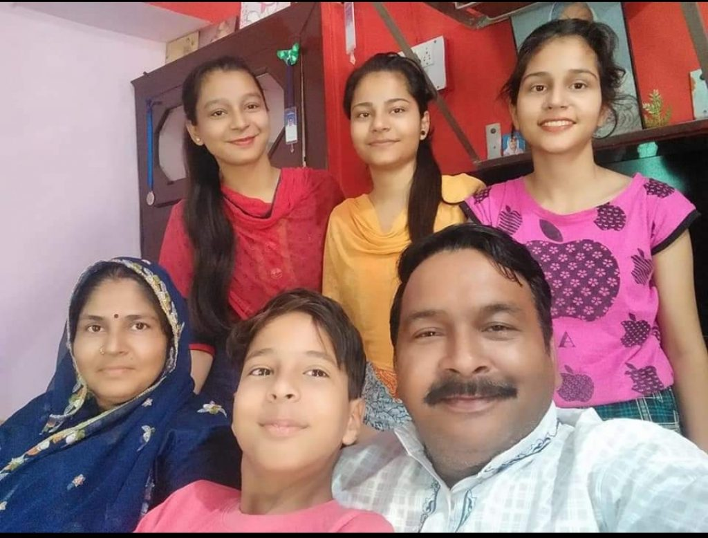 Muskan Zila Parishad BilasPur Family